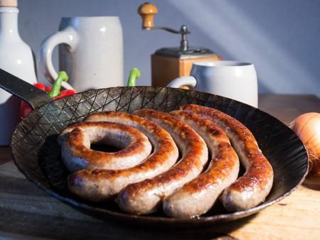 Grobe Bratwurst (4 Stck.)