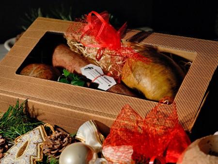 Weihnachts-Geschenk-Paket