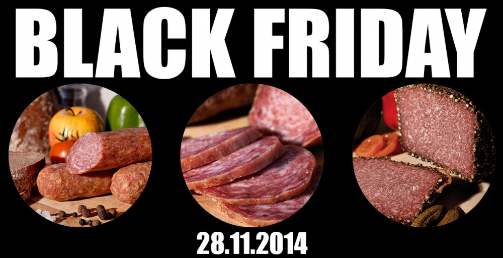 Black Friday im Ahle Wurscht Shop