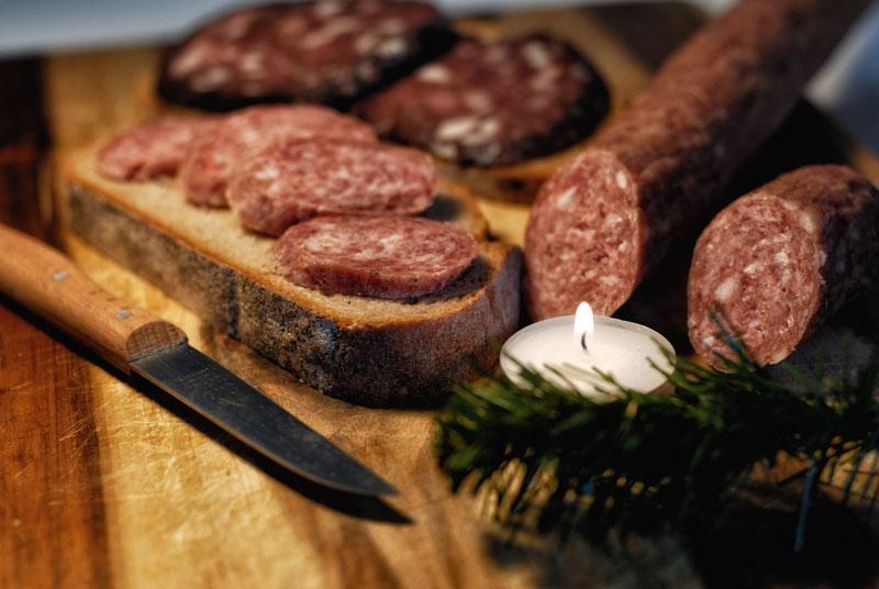 Hausmacher Wurst aus der Traditionsmetzgerei Mühlhausen