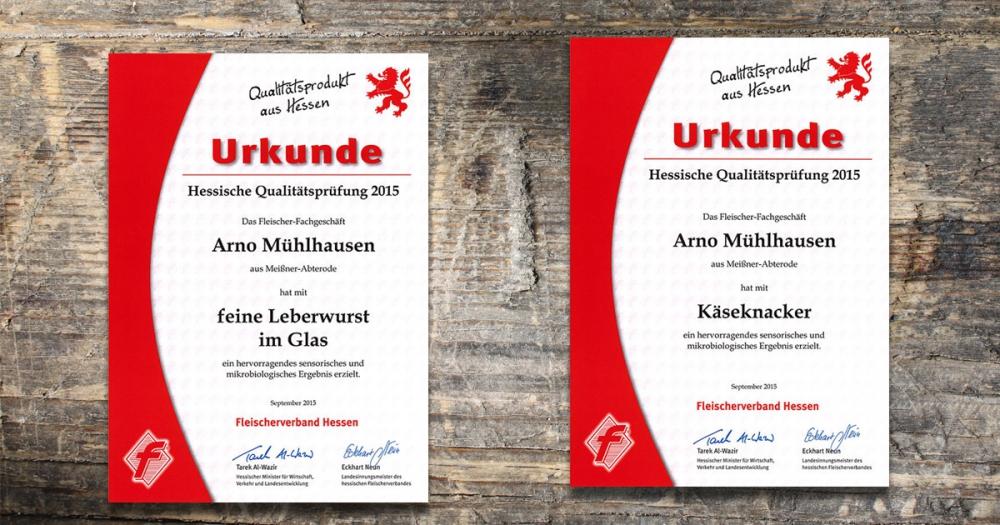 Neue Auszeichnungen für unsere Wurstspezialitäten