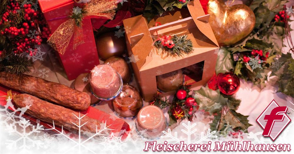 Unsere Weihnachtspakete sind wieder im Online-Shop erhältlich